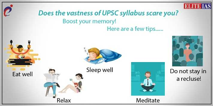 Tips to Boost Your Memory for UPSC Exam!