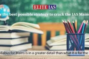 IAS Mains Exam Preparation – Cover