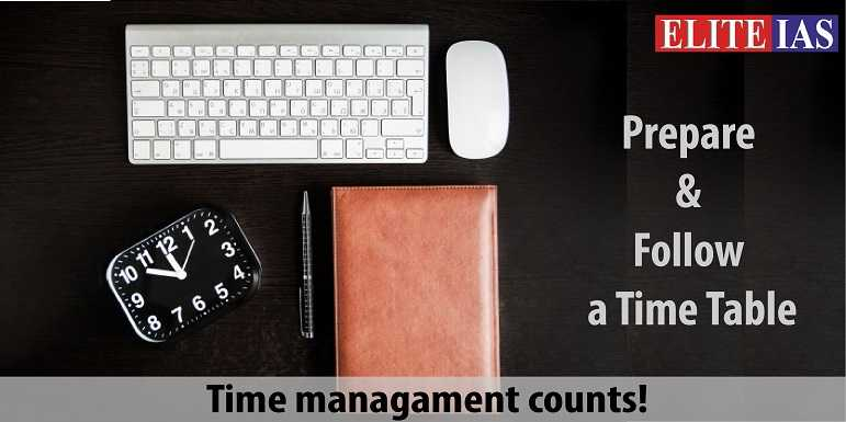 Time Management for IAS Exam Preparation