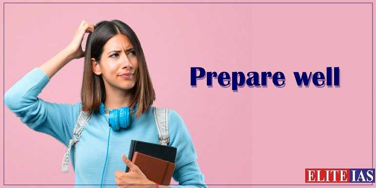 Prepare for IAS Exam