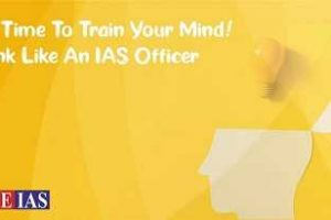 How to train yourself for IAS exam