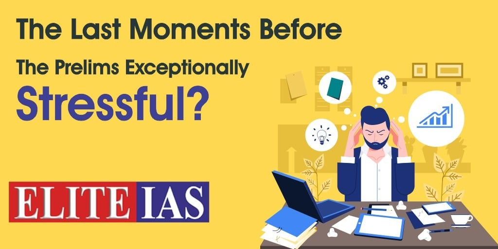 Understand And Counteract The Stressful Moments Before The Prelims