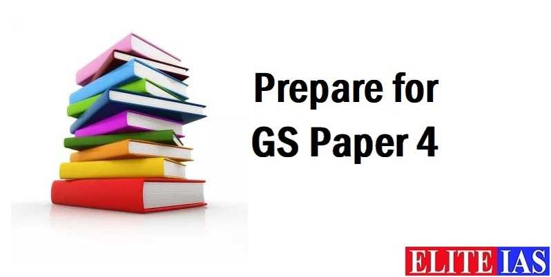 Best Recommended Books for IAS Mains GS Paper 4